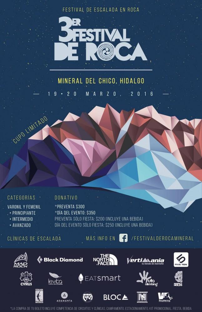 3er Festival de Roca en Mineral del Chico en México @ Mineral del Chico | Mineral del Chico | Hidalgo | México